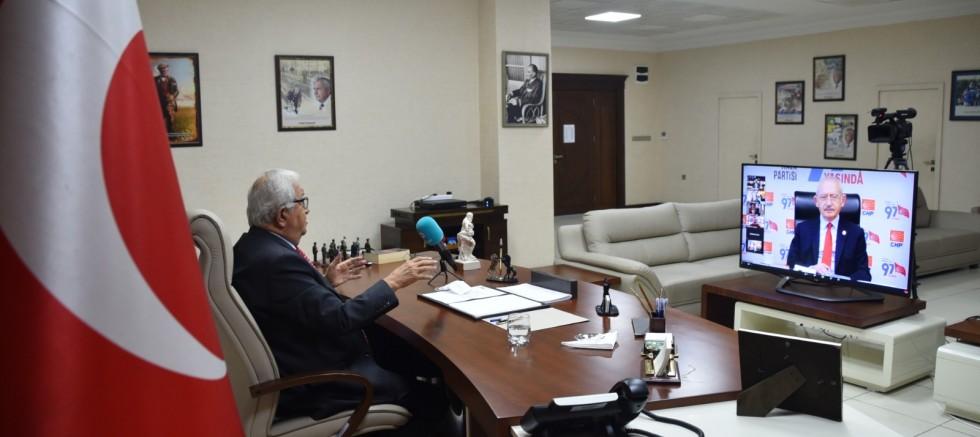Başkan Posbıyık, Kılıçdaroğlu ile görüştü