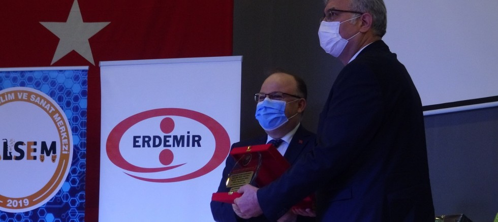 VALİ TUTULMAZ'DAN ERDEMİR'E TEŞEKKÜR